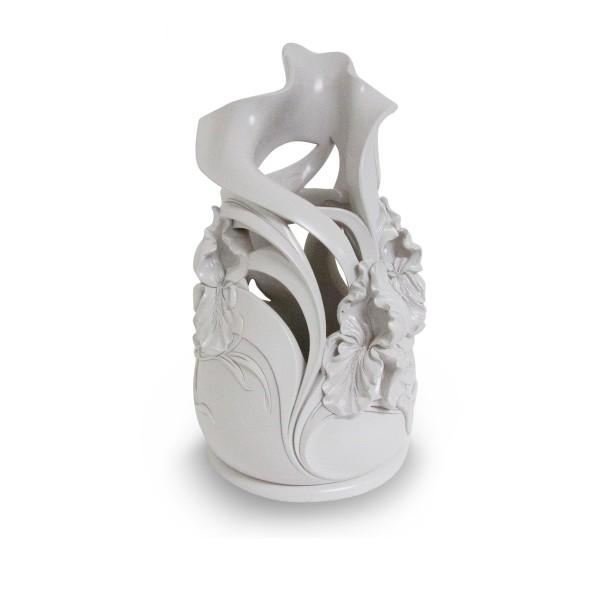 Flowers Urban Matt Vase Resin Color Of Ice Vases Linea Argenti